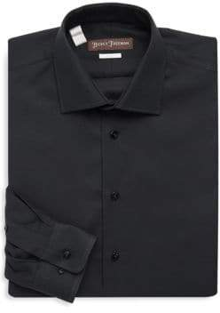 Hickey Freeman Basic Cotton Dress Shirt