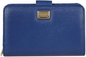 Dolce & Gabbana Dauphine Wallet - BLU - STYLE