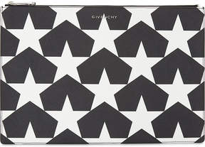 Givenchy Star leather pouch