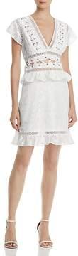Aqua Burnout Lace-Up Dress - 100% Exclusive