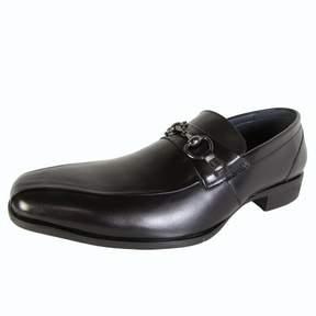 Steve Madden Mens P-Twirld Slip On Leather Loafer Shoes
