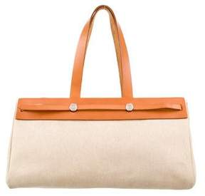 Hermes Herbag Cabas MM - WHITE - STYLE