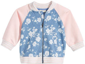 First Impressions Floral-Print Jacket, Baby Girls, Created for Macy's