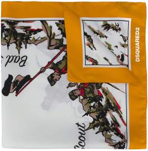 DSQUARED2 Bad Scout scarf