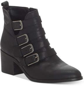 Lucky Brand Women's Loreniah Buckle Booties Women's Shoes