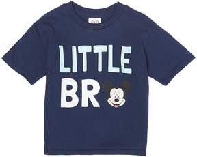 Freeze Navy Mickey Mouse 'Little Bro' Tee - Boys