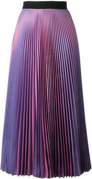 Christopher Kane pleated tafetta skirt