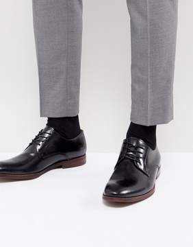 Aldo Yilaven Leather Derby Shoes In Black