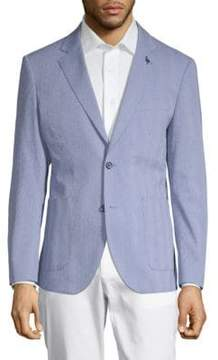 Tailorbyrd Ansel Cotton Seersucker Jacket