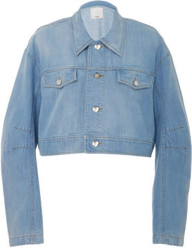 Tibi Cropped Jean Jacket