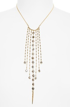 Chan Luu Women's Mystic Labradorite Fringe Necklace