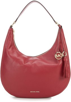 MICHAEL Michael Kors Lydia Large Hobo Bag - MULBERRY - STYLE