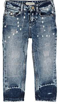 Scotch R'Belle KIDS' TOPSTITCHED DISTRESSED JEANS