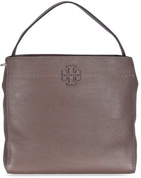 Tory Burch McGraw Leather Hobo Bag - Maple - ONE COLOR - STYLE
