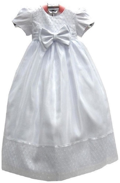 No Name Satin Christening Gown