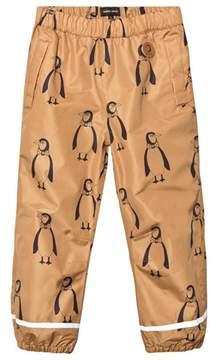 Mini Rodini Brown Edelweiss Low Trousers