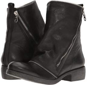 Matteo Massimo Low Boot with Zipper Women's Boots