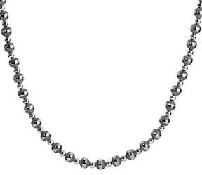 American West Sterling 32 Beaded Necklace