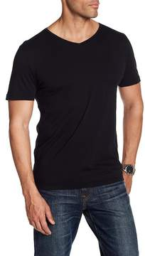 Frame V-Neck Short Sleeve Shirt