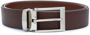 Canali textured buckle belt