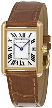Cartier Tank Louis 18kt Yellow Gold Men's Watch
