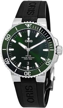 Oris Aquis Date Automatic Green Dial Men's Watch 01 733 7730 4157-07 4 24