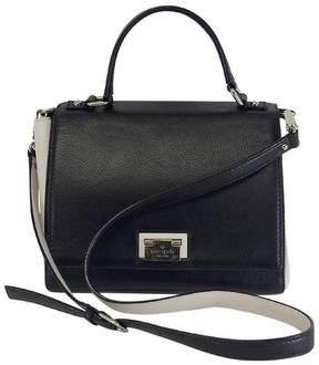 Kate Spade Black & White Leather Satchel