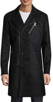 John Varvatos Slim-Fit Asymmetrical Coat