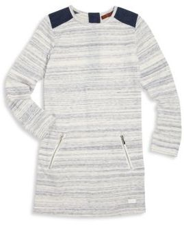 7 For All Mankind Little Girl's & Girl's Striped Knit Dress