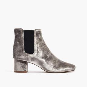 Madewell The Walker Chelsea Boot in Velvet
