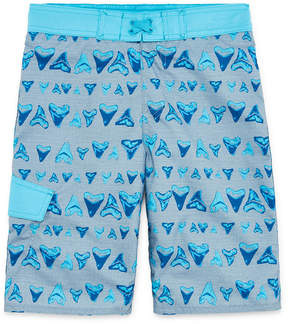 Arizona Shark Tooth Swim Trunk - Boys 4-20