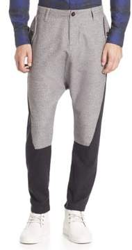 Mostly Heard Rarely Seen Two-Tone Cotton Pants