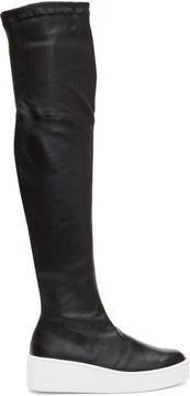 Robert Clergerie Black Tinatua Tall Boots