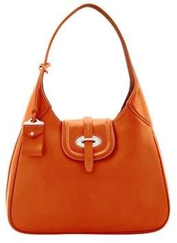 Dooney & Bourke Florentine Toscana Large Hobo Shoulder Bag. - NATURAL - STYLE