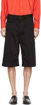 Lemaire Black Trench Shorts