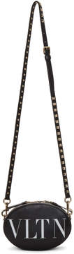 Valentino Black Garavani Small VLTN Ovale Bag