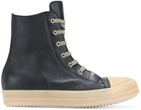 Rick Owens hi top sneakers