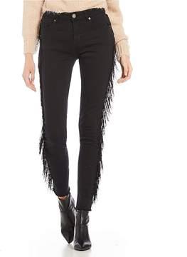 Chelsea & Violet C&V Fringe Sided Jeans