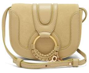 See by Chloe Hana Mini Leather Cross Body Bag - Womens - Light Green
