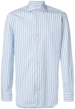 Barba striped print shirt