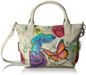 Anuschka Anna by Handpainted Leather Women's Convertible Large Tote