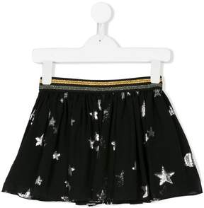 Zadig & Voltaire Kids planet patterned skirt