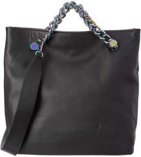 KENDALL + KYLIE Van Foldable Leather Shoulder Bag