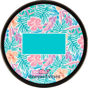 Vineyard Vines Monogrammed Gulf Tropical Chappy Hitch Cover