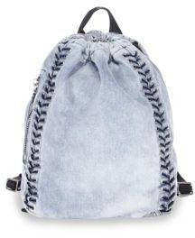 3.1 Phillip Lim Go-Go Medium Washed Denim Backpack
