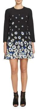 Cynthia Steffe Asha Floral Printed Dress