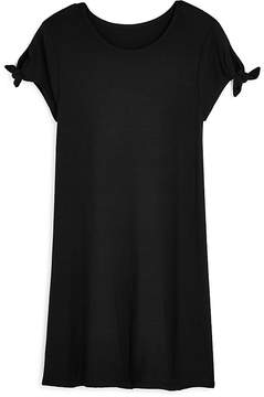 Aqua Girls' Tie-Sleeve Shift Dress, Big Kid - 100% Exclusive