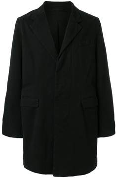 Ann Demeulemeester Grise single-breasted coat