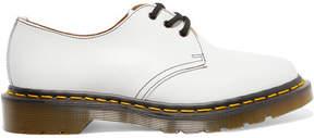 Comme des Garcons Dr Martens Leather Brogues - White