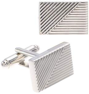 Apt. 9 Men's Line Detail Cuff Links